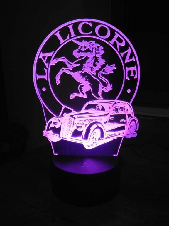 Lampe décorative multicolore Dscf5917