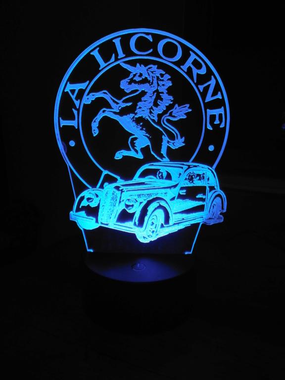 Lampe décorative multicolore Dscf5918