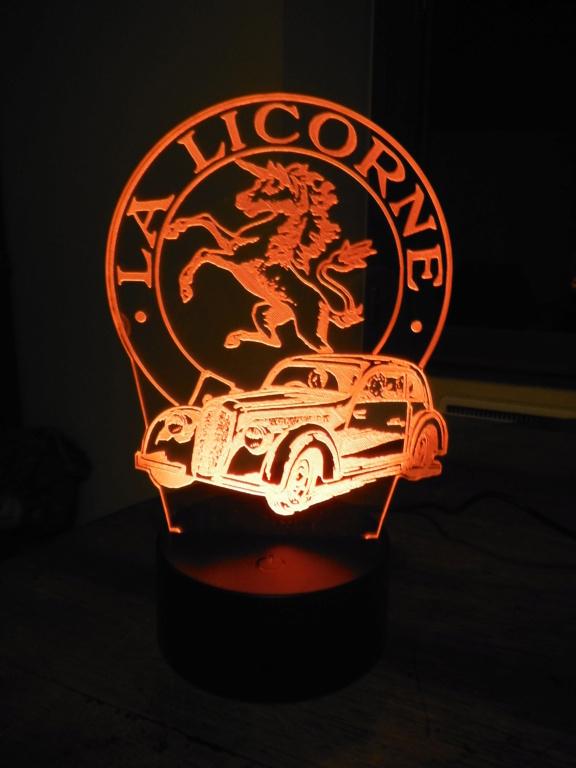 Lampe décorative multicolore Dscf5919