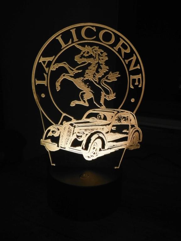 Lampe décorative multicolore Dscf5920