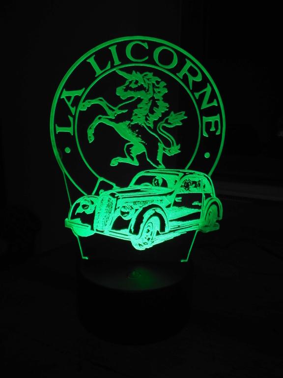 Lampe décorative multicolore Dscf5921