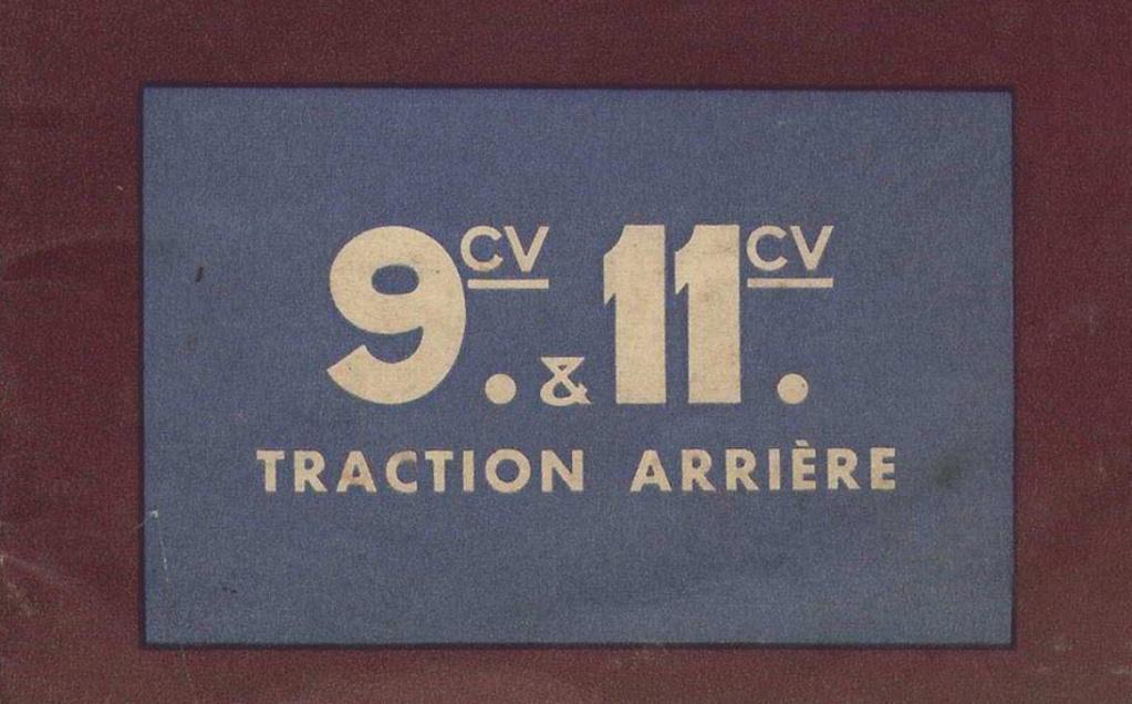 les CITROËN  à propulsion : B2, C4, C6, Rosalie.... - Page 21 Sans_t13