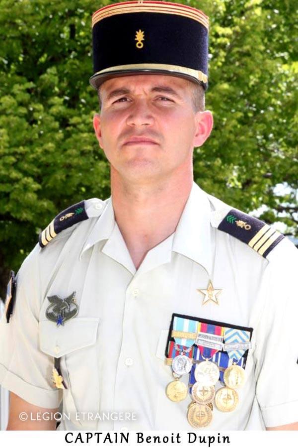 Capt. Benoit Dupin  48374610