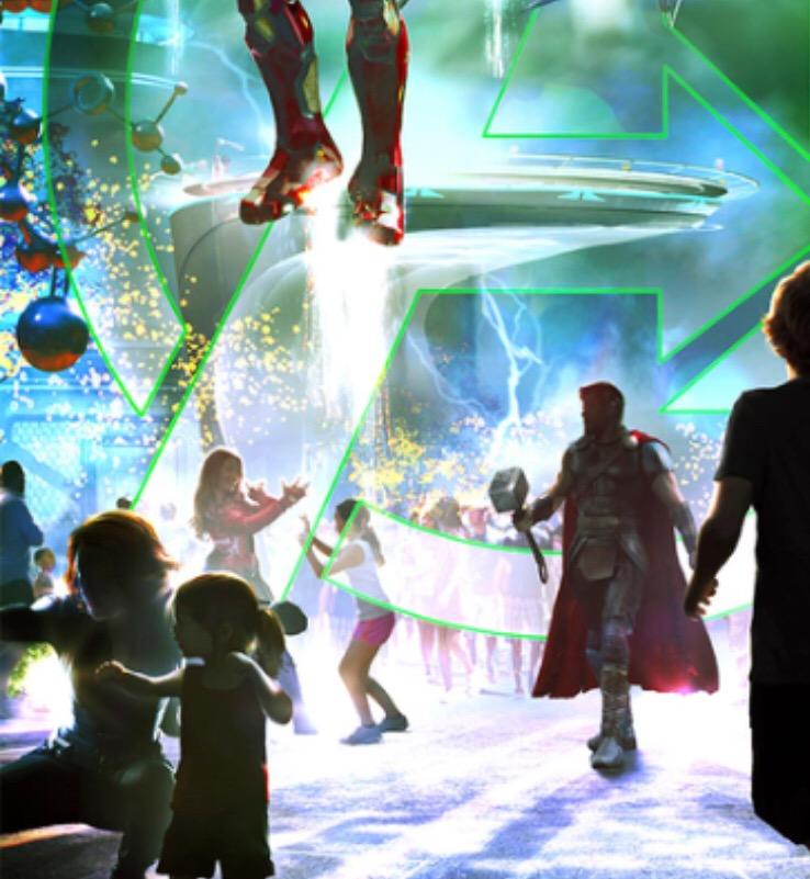 [Parc Walt Disney Studios] Nouvelle zone Marvel (2020 ou 2021) - Page 13 43017310