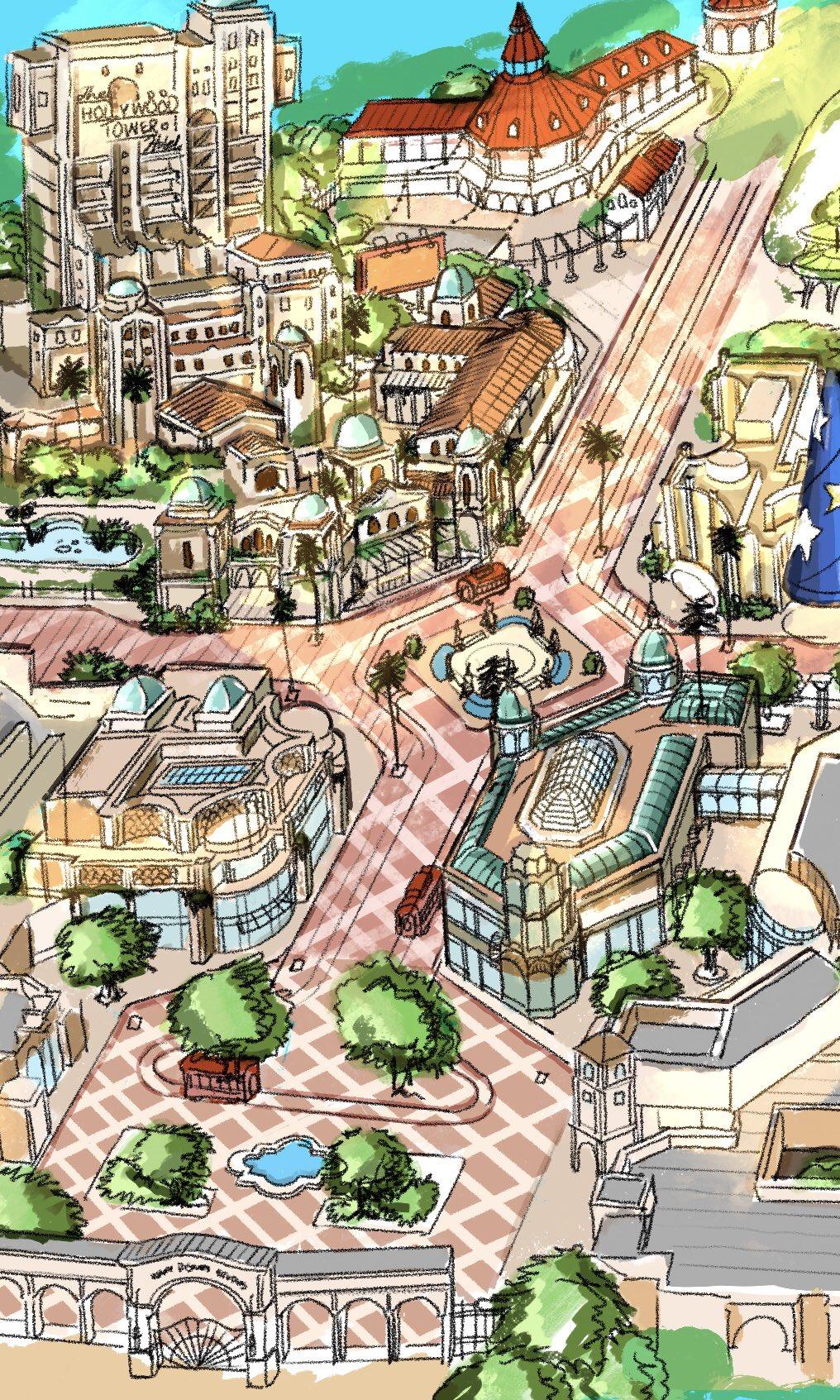 Extension du Parc Walt Disney Studios avec nouvelles zones autour d'un lac (2022-2025) - Page 20 Ehnktb10