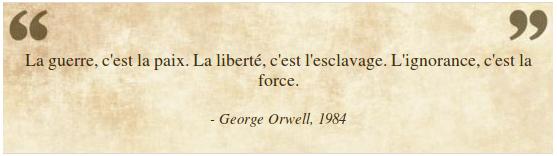 Pensée du jour - Page 3 Orwell10