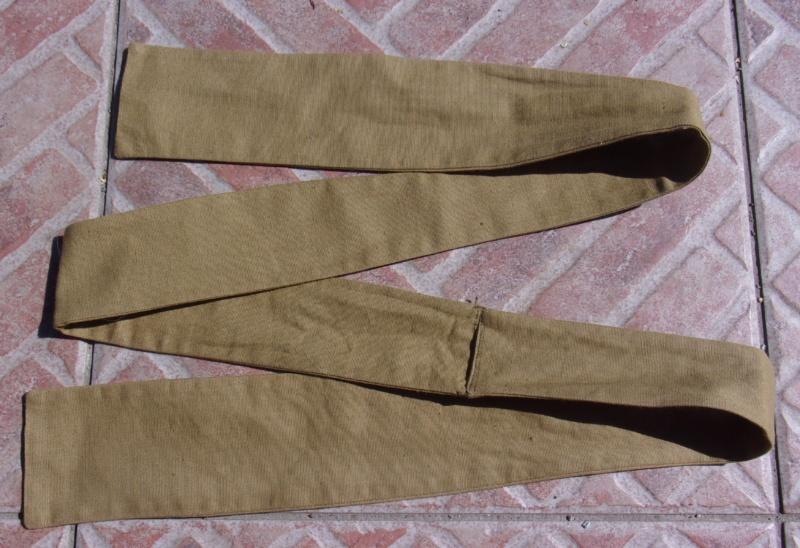 """Cravate """" de chasse """" modèle 13 pour officier ESC - JUIN 1 202_0512"""