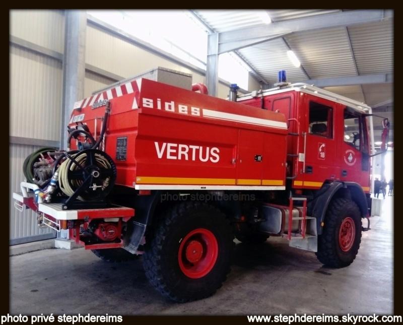 Portes ouvertes sapeurs-pompiers VERTUS 512