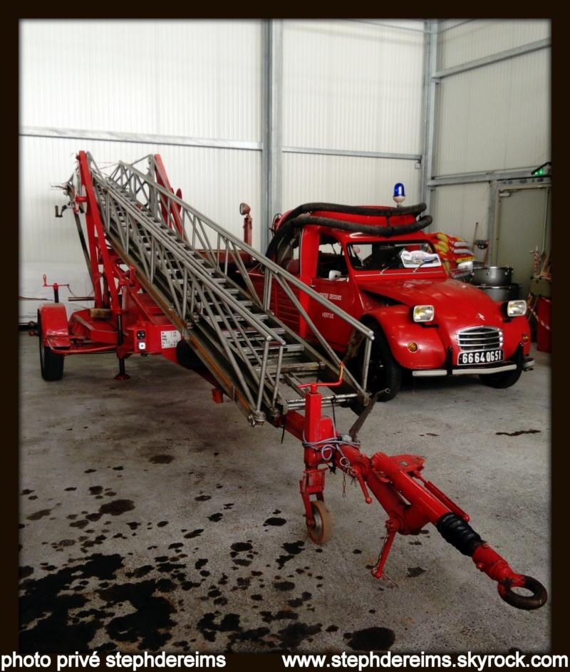 Portes ouvertes sapeurs-pompiers VERTUS 611