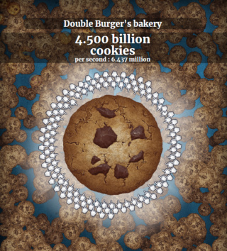screen de cookie clicker peu glorieux