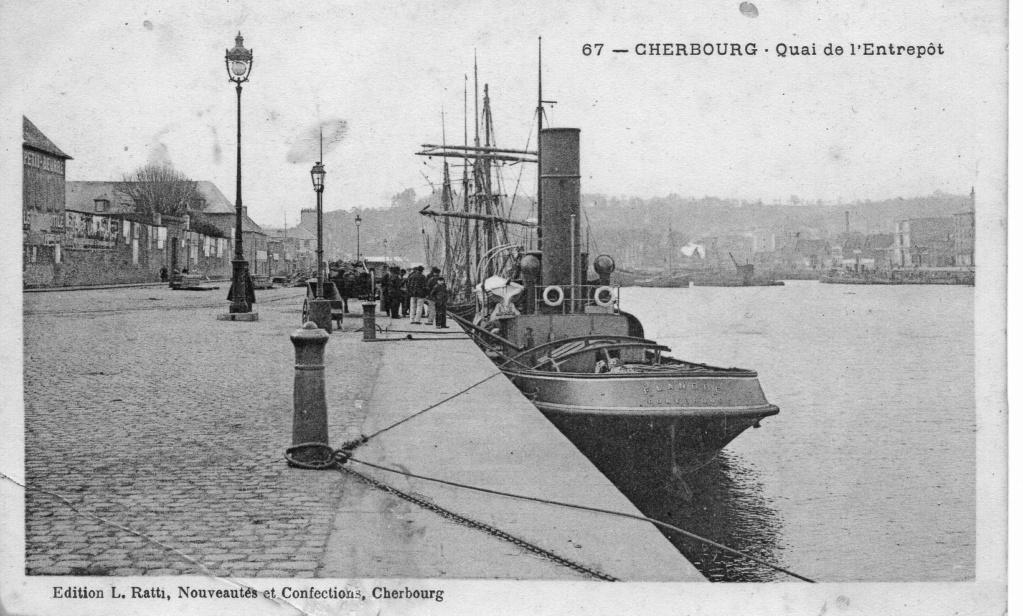 [Activité des ports hors Marine] LE PORT DE CHERBOURG - Page 19 Cherbo14
