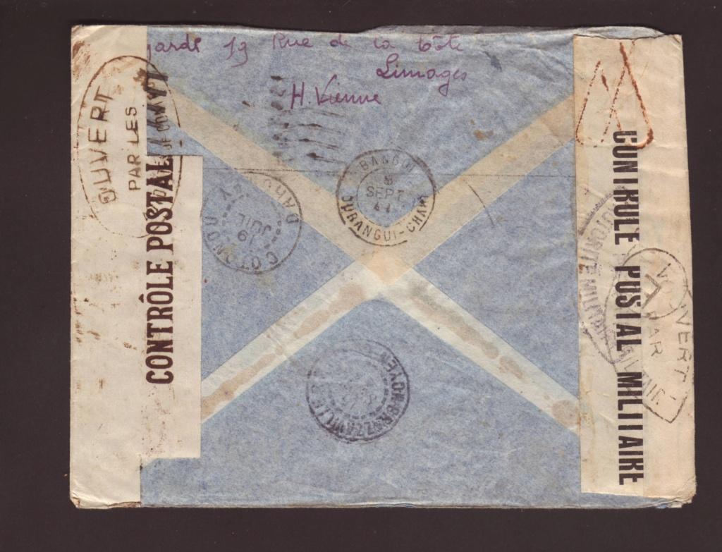 Saint Raphaël à Pointe Noire (Moyen Congo) le 22/04/1941 : problème de tarification  18000510