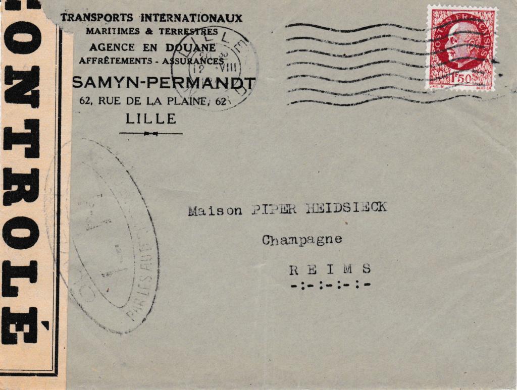 Censures françaises d'août 1944 Lille_11