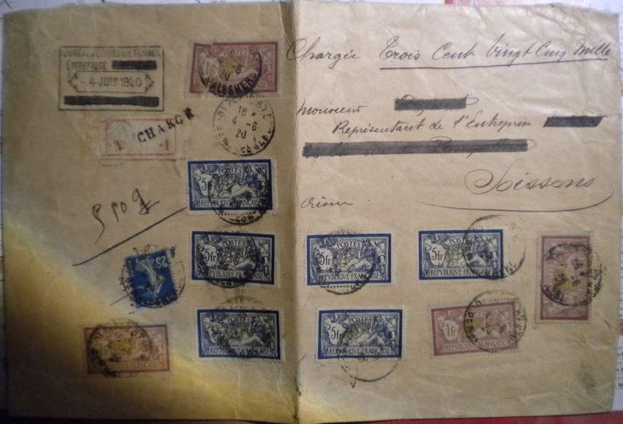 je cherche lettre chargée Vd_32510