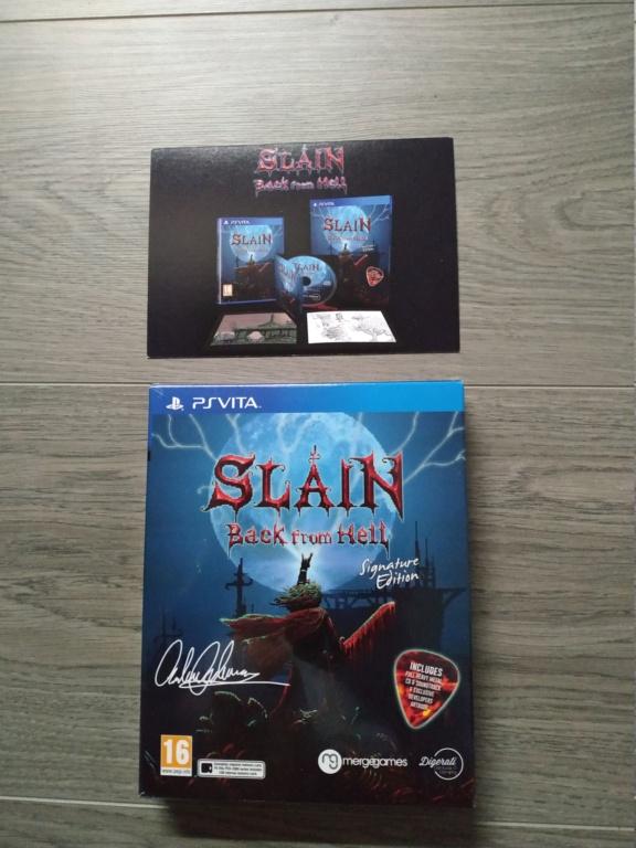 Slain Signature Editions (Vita), Dariusburst CE sous blister Oddworld LRG Img_2044