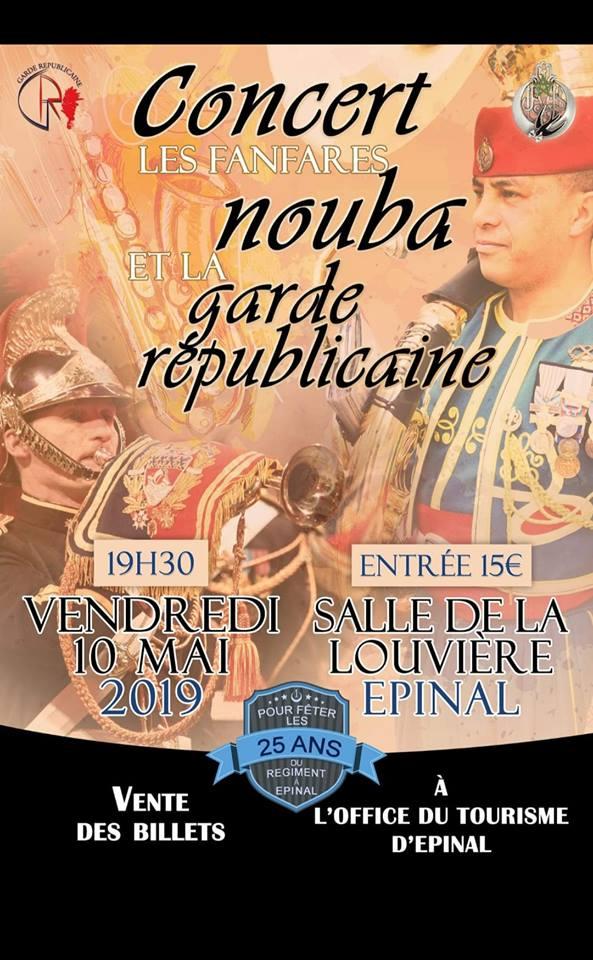 Concert Nouba et Garde Républicaine 10 mai 2019 Nouba10