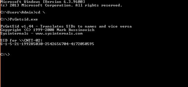 Tìm hiểu về SID (Security Identifier) trên hệ điều hành Windows Sid-st11