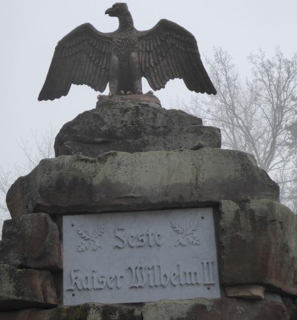 aigle à la gloire du Kaiser Guillaume II 11111110