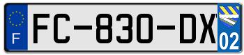 CITROËN Plaqu126