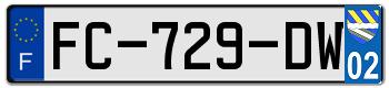 FIAT Plaqu128