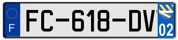 VOLVO Plaqu131