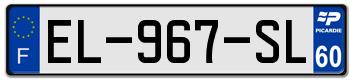PEUGEOT Plaqu158