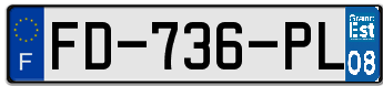 CITROËN Plaqu172