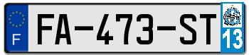 RENAULT Plaqu185