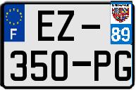 CITROËN Plaqu225