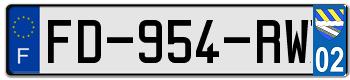 CITROËN Plaqu235