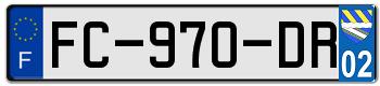 OPEL Plaqu241