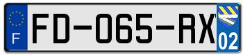 FORD Plaqu260