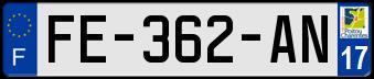 VOLVO Plaqu268