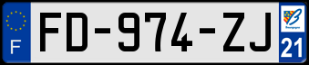 RENAULT Plaqu271