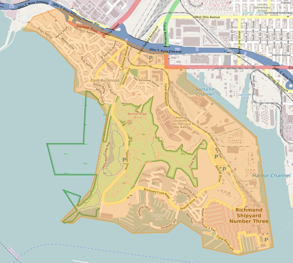 Contra Costa County Autonomous Dockyard Map10