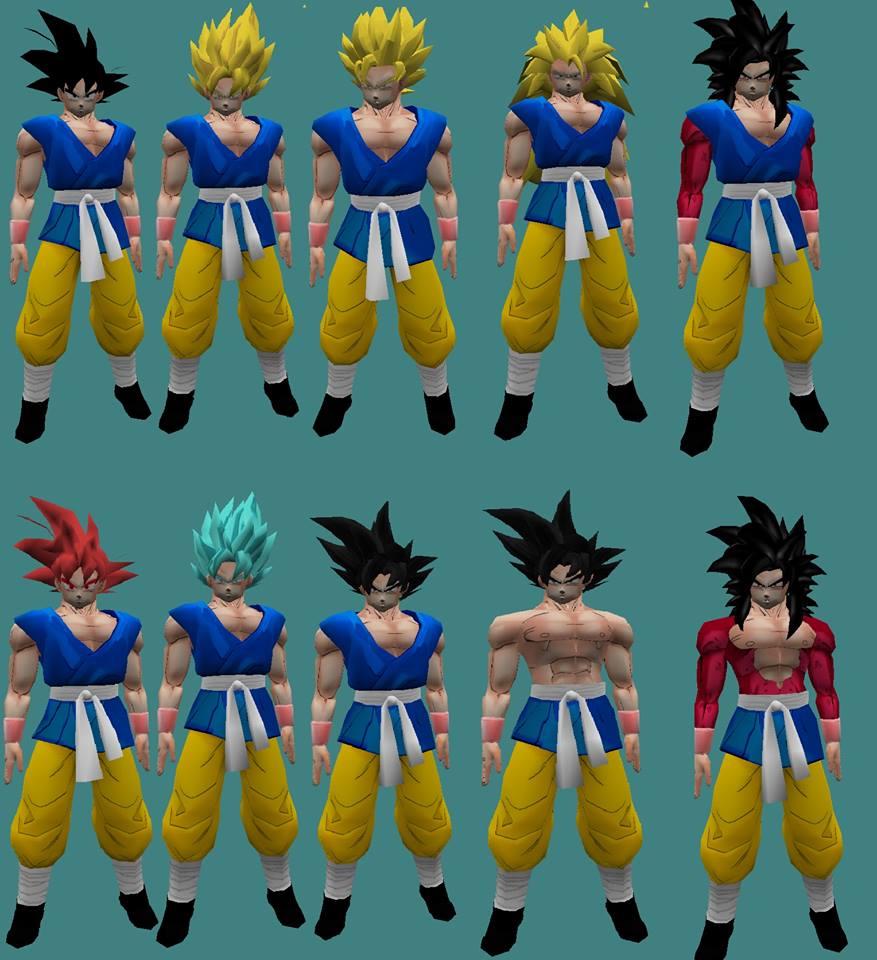 [Model] Goku End of Z sin Amxx 114