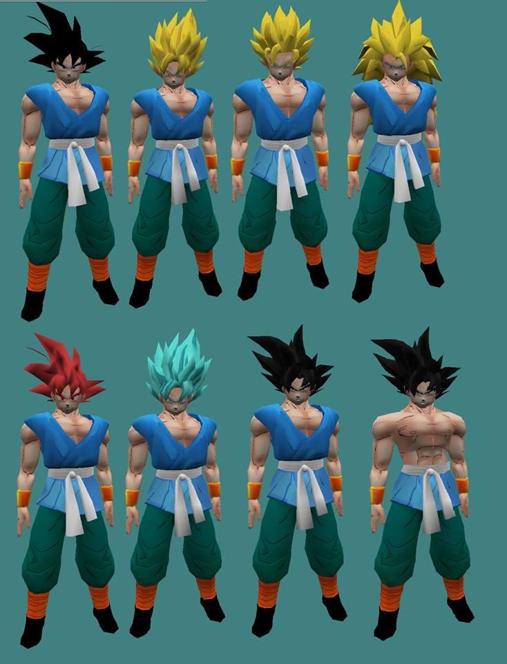 [Model] Goku End of Z sin Amxx 210