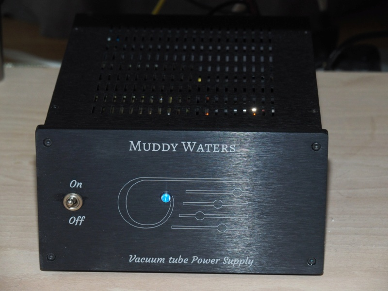 Clinamenaudio pre phono Muddy Waters - Step Up Silver Line Alimen11