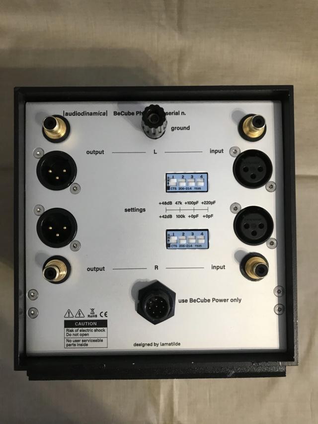 Audiodinamica BeCube Phono e SUT n.3 Pre_fo10