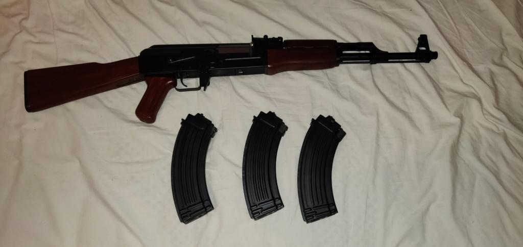 AK47 NEXT GEN TOKYO MARUI avec 3 chargeur next gen - 300e Img_2014