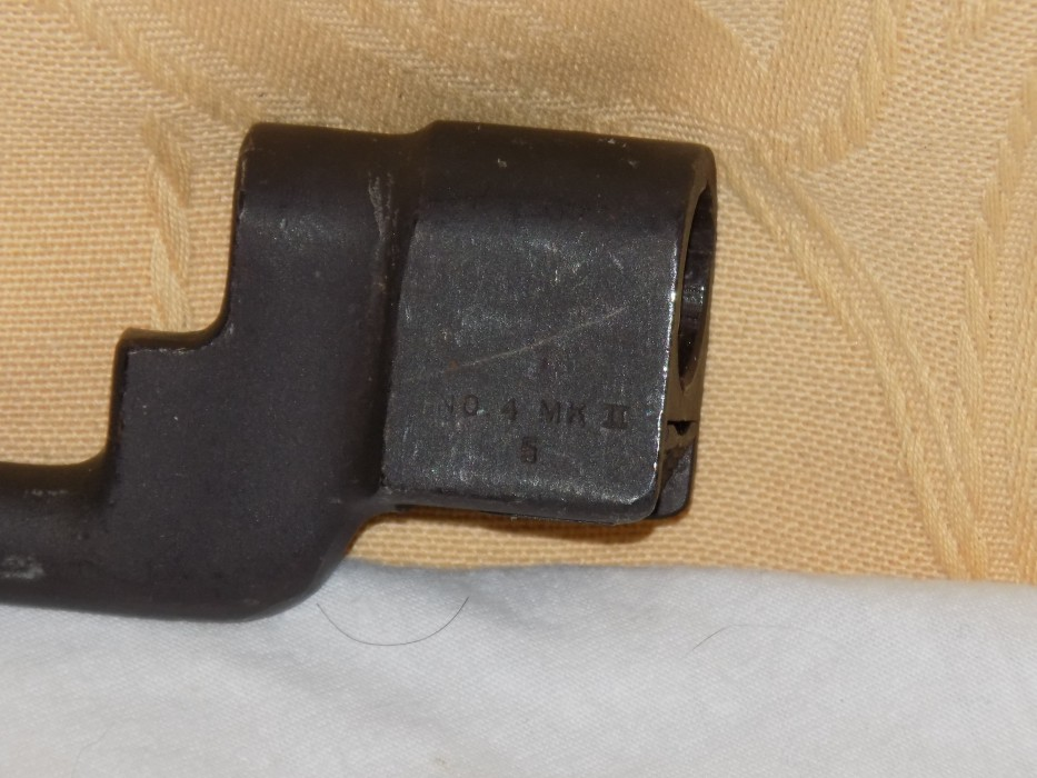 Confirmation identification baionette lee enfield 250