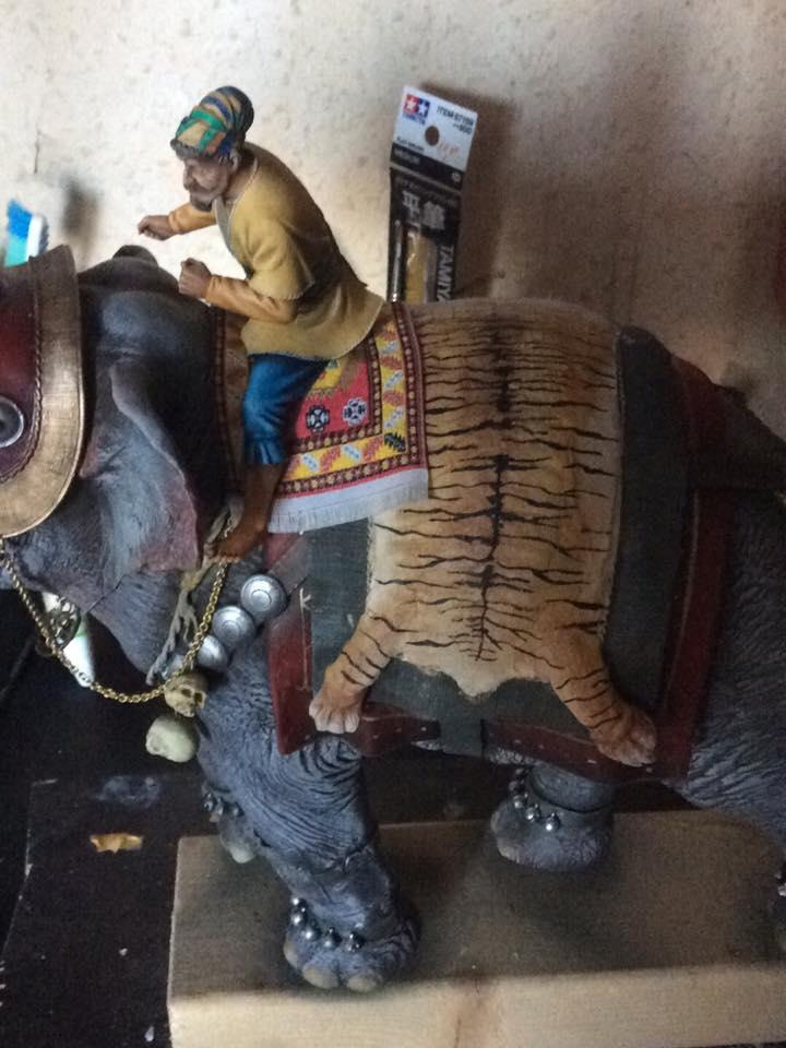 elephant de guerre indien 16th verlinden 120 mm 51868910