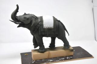 elephant de guerre indien 16th verlinden 120 mm Dsc_0012