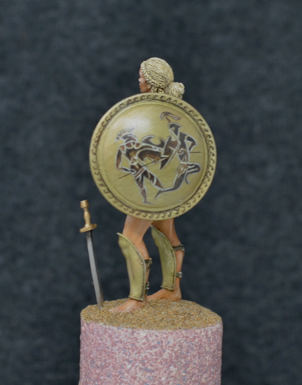 amazone  grecque de chez pegaso models 54mm Dsc_0219