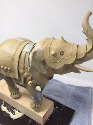 elephant de guerre indien 16th verlinden 120 mm Img_3325