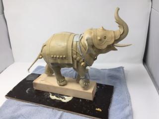 elephant de guerre indien 16th verlinden 120 mm Img_3327
