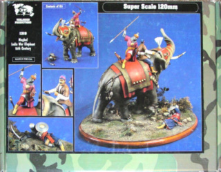 elephant de guerre indien 16th verlinden 120 mm S-l50010