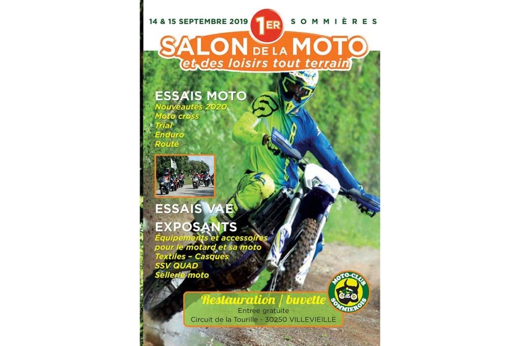 Salon de la moto de SOMMIERES  E1544810