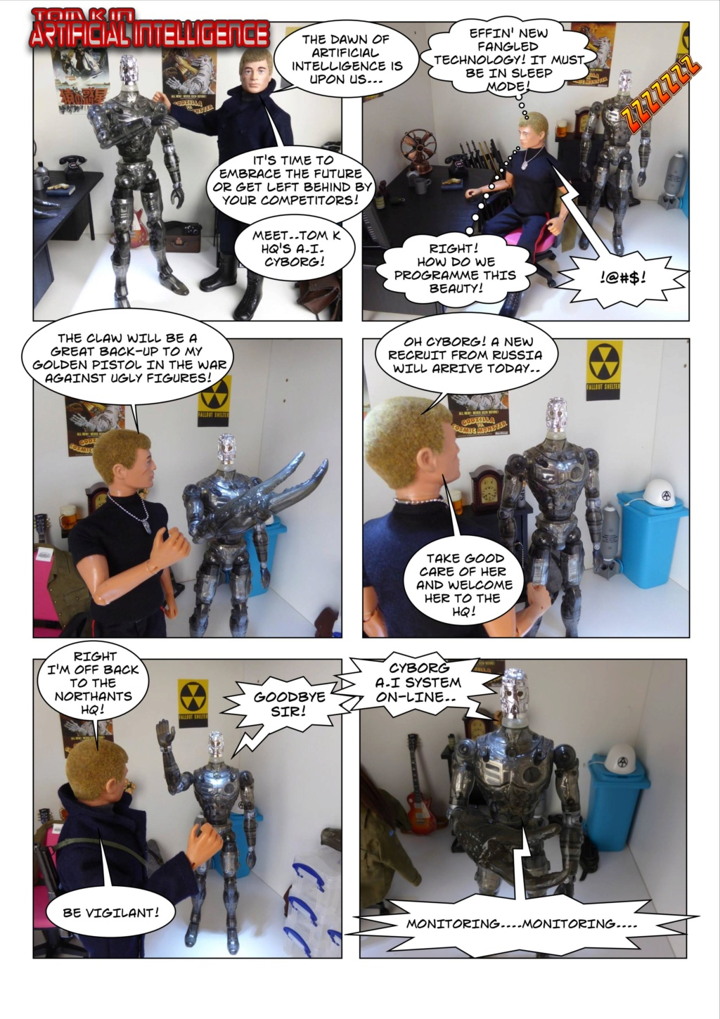 Tom K HQ's Venture into the World of Artificial Intelligence Page-111