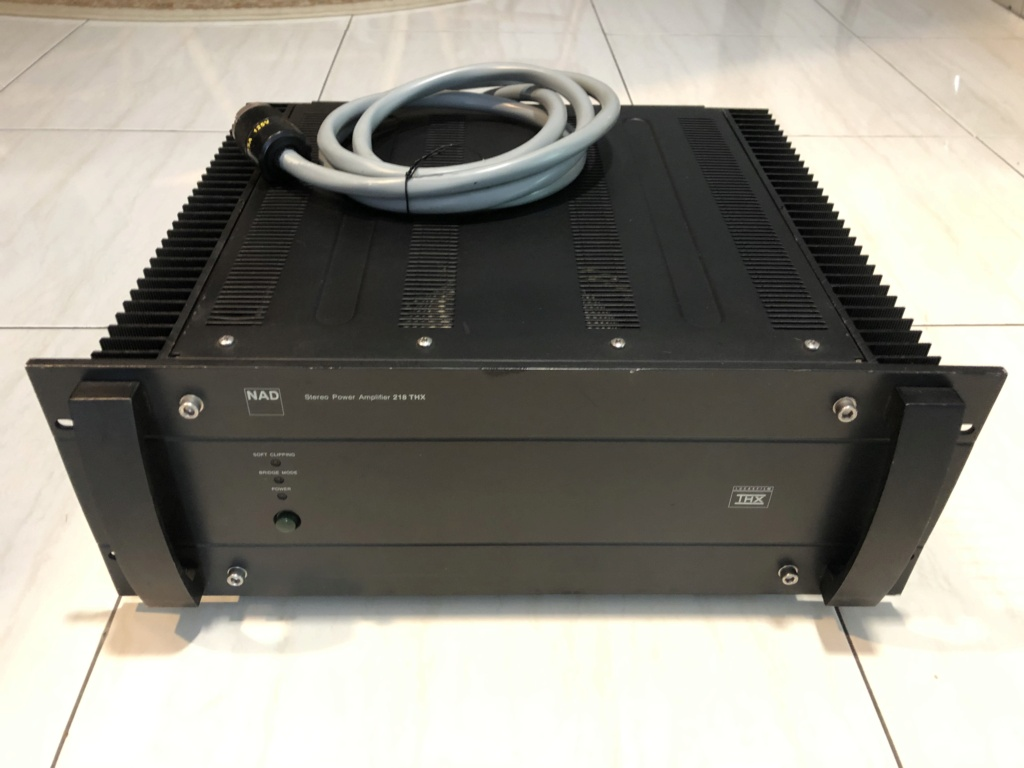 NAD 218THX power amp Img_3910